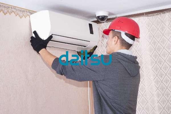 instalación aire acondicionado daitsu en Terrassa
